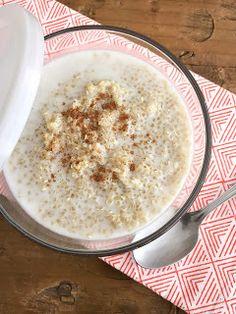 Quinoa with coconut milk