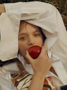 Live Young  Photographer: Georges Antoni  Modle: Gemma Ward Styling: Sara Smith Hair: Daren Borthwick Make-up: Gillian Campbell
