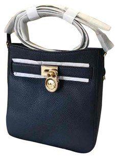 886580c1a2cf Michael Kors Pebbled Leather Hamilton Traveler Cross Body Bag Michael Kors  Hamilton, Cuero De Grava