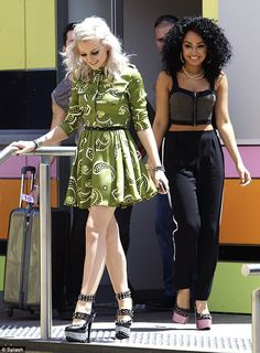 Perrie's heels are the same she wore on december 3rd last year, check if you don't believe me. I dare you say now I'm not dedicated enough.<<<<wow! I wudnt have known haha but they are definitely one of the cutest pairs I've ever seen :)
