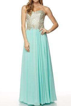 3487cbdf84 Strapless long bridesmaid dress 105-608 - Simply Fab Dress Flowy Gown