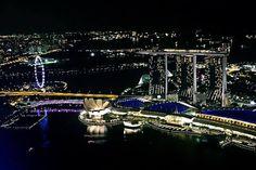 12 expériences foodies à tenter à Singapour : Vue depuis le Altitude Rooftop Bar