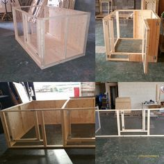 a small selection of our Indoor Rabbit Pens. Made with Solid Timber. perspex, Mesh. Handmade By The Lads At Boyles Pet Housing