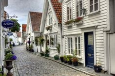Stavanger Norway. My grandfather's city. The oldest collection of wooden structures in Europe-- I need to go before old town is razed.