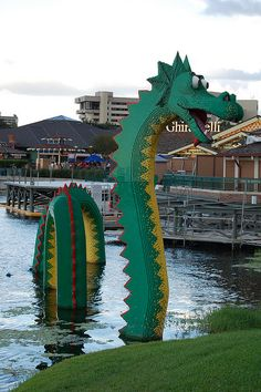 Downtown Disney, lego land - Orlando, Florida