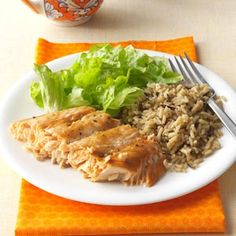 Salmon with Brown Sugar Glaze Recipe from Taste of Home