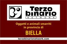 Oggetti e animali smarriti in provincia di Biella