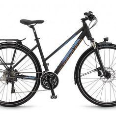 Staiger Ohio Damen 28 Zoll 30-G LX 16 schwarz blau matt 2016 Trekkingrad