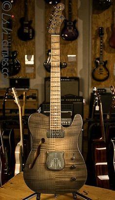 V8 custom guitar the loner