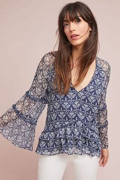Marinette Peasant Top #ad #AnthroFave #AnthroRegistry Anthropologie #Anthropologie #musthave