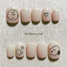 Kawaii Nail Art, Cute Nail Art, Cute Acrylic Nails, Cute Nails, Pretty Nails, Gel Nails, Manicure, Asian Nails, Korean Nails