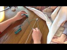 Chinese Staircase Stitch to Wrap Earbuds