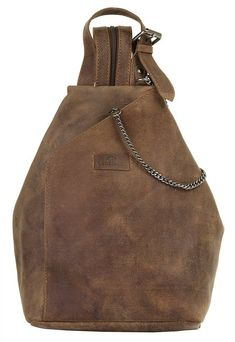 Landleder Cityrucksack »OLD SCHOOL«  #cityrucksack #landleder #school Sling Backpack, Leather Backpack, Diy Room Divider, Old School, Bucket Bag, Backpacks, Bag Design, Products, Fashion