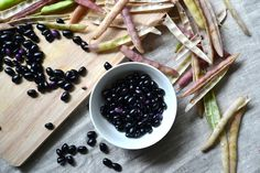 Nourish The Roots: Some Thoughts on Black Beans in the Pod