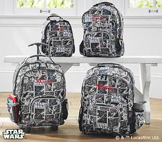 I wish this wasn't so pricey. Allover Star Wars™ Darth Vader™ Backpacks #pbkids