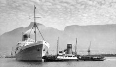 Old Pictures, Old Photos, Cities In Africa, South Afrika, Tugboats, Cruise Boat, Merchant Navy, Cape Town South Africa, Sunderland