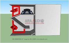 Skema Box Speaker Funktion one Asli 15 Inch Subwoofer Box, Subwoofer Box Design, Speaker Box Design, Speaker Plans, Audio Amplifier, Speakers, How To Plan, Diamond, Necklace Ideas
