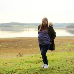 Third Trimester Maternity Style with Mothercare Denim | Emily and Indiana. How to stay stylish and comfortable during pregnancy, with mothercare maternity wear / jeans. Autumn / winter 2017 denim collection. Maternity / pregnancy style in winter