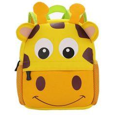 Child Toddler PreK Movie Cartoon Book Bag  School Backpack Pig-Gray Cute outdoor