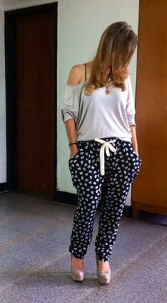 Aladino pants, confy and cute.