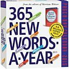 365 New Words a Year 2015 Desk Calendar: 9780761177999   Literature   Calendars.com