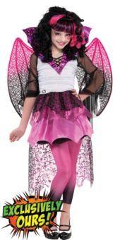 Girls Supreme Monster High Draculaura Costume...