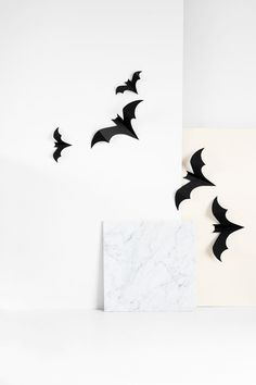 DIY Halloween Bats Tutorial with FREE Template ☆
