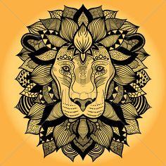 zentangle lion - Google zoeken