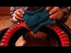 How to make 3 types of Leapfrog stitch on Addi machine. Addi Knitting Machine, Circular Knitting Machine, Knitting Machine Patterns, Loom Knitting, Addi Express, Finger Crochet, I Cord, Yarn Needle, Arm Warmers