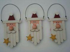 Kids Crafts diy crafts for kids christmas Christmas Ornament Crafts, Christmas Projects, Kids Christmas, Handmade Christmas, Holiday Crafts, Christmas Decorations, Santa Ornaments, Cheap Christmas, Snowman Crafts