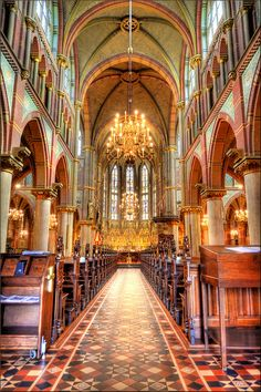 Liduina Basilica, Schiedam, Holland