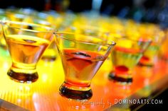 #Cocktails for your #wedding #reception :) #Wedding #catering #picture by #DominoArts #Photography (www.DominoArts.com)
