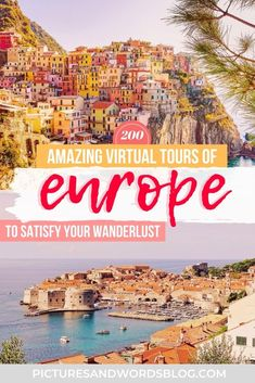 Amazing Virtual Tours of Europe | 200 Ways to Travel Europe from Home | Europe Virtual Travel | Europe Virtual Vacation | Europe Staycation | France Virtual Tours | Italy Virtual Tours | Europe Virtual Tours | Virtual Museums in Europe | Virtual Paris Tours | Virtual England Tours | Virtual Italy Tours