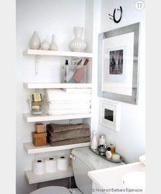 Une salle de bain créative