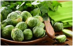 """""""Brussels Sprouts     You may have resisted Brussels sprouts as a kid, but they're hard to resist once you learn just how healthy these tasty veggies are. Brussels sprouts are a viable source of antioxidants, vitamins, folate, and fiber. Plus, they're a source of iron. Serving Size (1/2 cup), 0.9 milligrams of iron"""""""