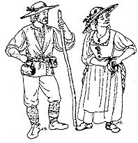 french peasant clothing