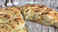 Syrovo-cesnakový chlieb (videorecept) - recept | Varecha.sk Dumplings, Mozzarella, Mashed Potatoes, Bread, Ethnic Recipes, Pizza, Food, Basket, Whipped Potatoes