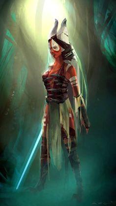 Shaak Ti: Republic Era Jedi Master (Deceased?)