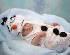 Snowman Snuggle Newborn Photo Prop Costume