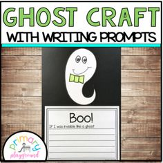 Ghost Craft With Writing Prompts/Pages