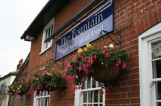 The Fountain, Tuddenham. Go in the winter so you can have their rice pudding!