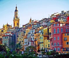 "Menton, Cote d'Azur, France Nicknamed ""The Pearl of France,"" this colorful coastal town is famous for its gardens and lemon and orange groves. In fact, the town is so centered on citrus that they throw a Lemon Festival every February, during which huge statues are built entirely out of different citrus fruits."
