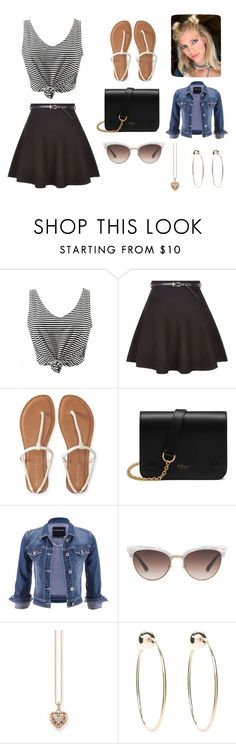 """""""it's just me"""" by abydallas on Polyvore featuring mode, New Look, Aéropostale, Mulberry, maurices, Gucci, Thomas Sabo et Bebe"""
