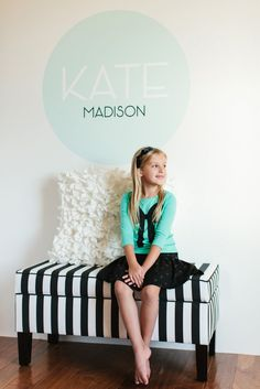 Custom Wall Decals :: Decorating with Shutterfly #shutterflydecor