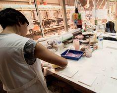 Los geniales resultados de nuestro trabajo se debe, en gran parte, a que nos apasiona lo que hacemos. #artesanía #handmade #cerámica
