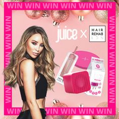 MEGA CHRISTMAS GIVEAWAY 🎄 🎁  ⚡ WANNA WIN A @hairrehablondon VOUCHER WORTH £100? ⚡ PLUS JUICE GOODIES WORTH £100 INCLUDING A JUICE PORTABLE SOUND SQUARE, WIRELESS CHARGING POD, PORTABLE POWER BANK AND MAINS CHARGER 🙌  TO ENTER 👇 Head to our Instagram page - @HairRehabLondon Hair Rehab London, London Blog, Christmas Giveaways, Charger, Juice, Goodies, Instagram, Sweet Like Candy, Gummi Candy