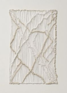 Sheila Hicks Dancing With One Eye Open 2015 Alison Jacques Gallery Textile Fiber Art, Textile Artists, Fibre Art, Weaving Textiles, Weaving Art, Kintsugi, Sheila Hicks, Organic Sculpture, Love Wall Art