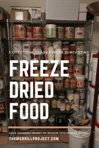 Before Buying Freeze Dried Food- 3 Questions To Ask Yourself Freeze dried food has been the new food storage craze. That being said there are 3 Questions to Ask Yourself Before Buying Freeze Dried Food Lds Food Storage, Long Term Food Storage, Storage Ideas, Best Freeze Dried Food, Freeze Drying Food, Freeze Dried Meals, Emergency Food Supply, Emergency Preparedness, Wise Foods