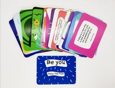 Be You - Motivational Poetry Cards A Daily Positive Boost
