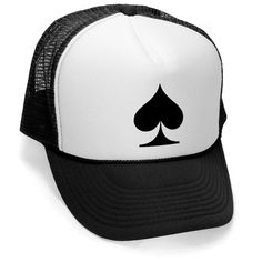 ACE of SPADES CARDS Trucker cap - hat osfa one size fits all retro vintage  funny 58b067154e5